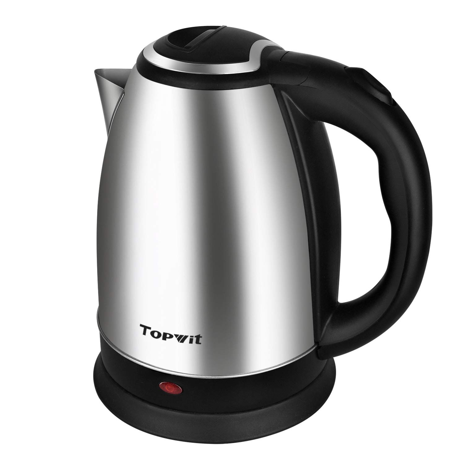 Topwit Electric Kettle Water Heater Boiler, Stainless Steel Cordless Tea Kettle 2 Liter with Fast Boil, Auto Shut-Off and Boil Dry Protection