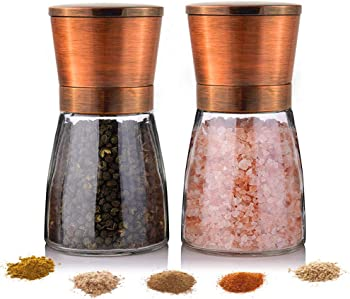Yugefom Salt and Pepper Grinder – Premium Stainless Steel
