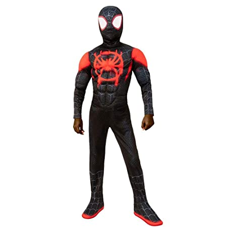 werty Cosplay Ropa Little Black Spiderman Anime Costume ...