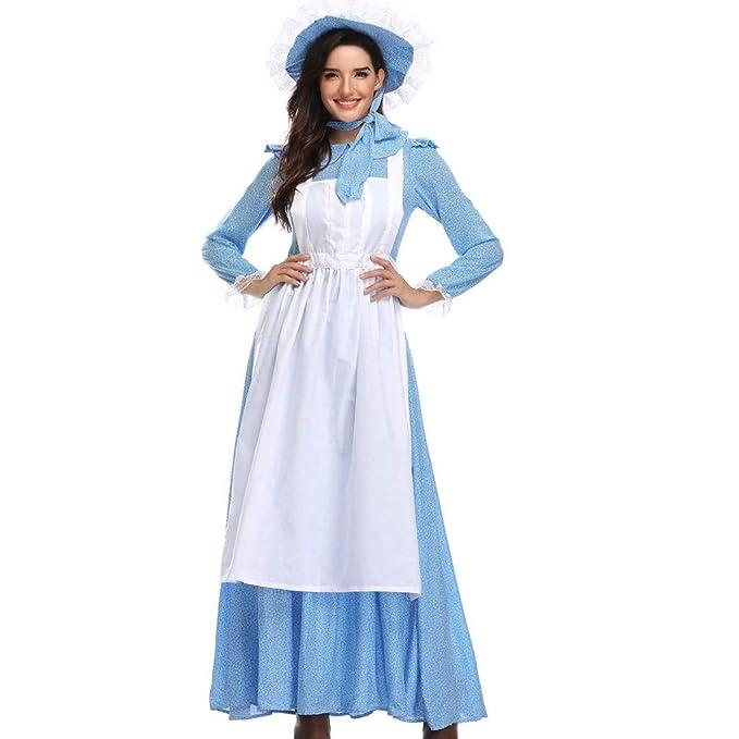 PARVAL Mujeres Vestido Vintage Rockabilly para Mujer Traje ...
