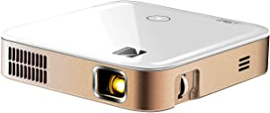 KODAK Luma 350 Portable Smart Projector w/ Luma App | Ultra HD Rechargeable Video Projector w/ Onboard Android 6.0, Streaming Apps, Wi-Fi, Mirroring, Remote Control & Crystal-Clear Imaging
