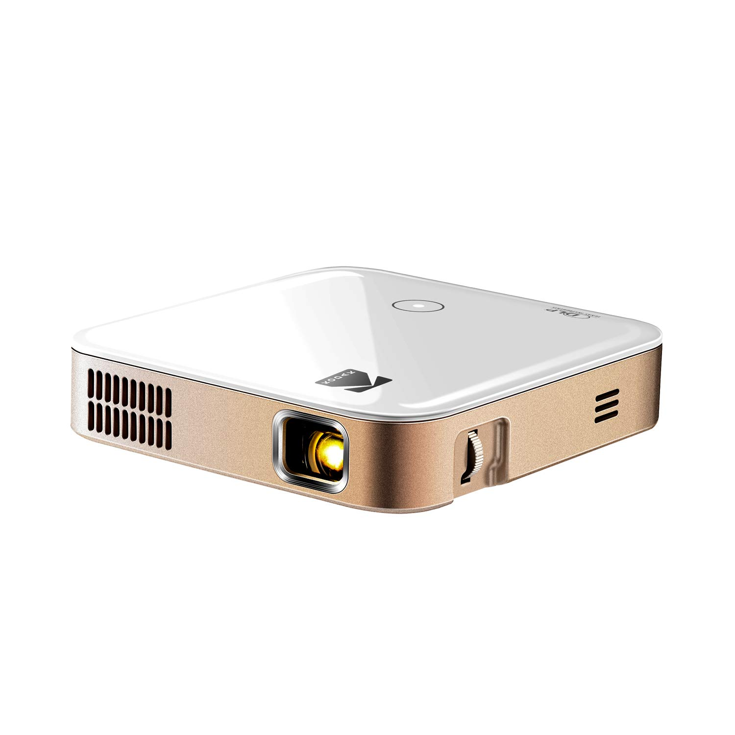 Kodak Luma 350 Portable Smart Wi-Fi Ultra HD Mini Projector | Powerful 4K Supported Rechargeable Video Projector w/Android , Streaming Apps, Mirroring, Remote Control & Crystal-Clear up to 200""