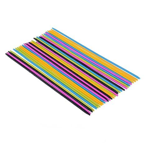 30pcs//set Classic Plastic Pick Up Sticks Set Traditional Game TO*ss