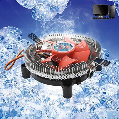 - New-Sky-View - 2200rpm CPU Quiet Fan Cooler Cooling Heatsink For Intel LGA775/1155 AM2/3