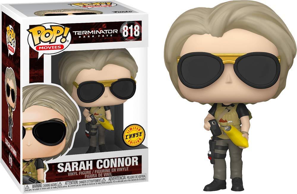 Sarah Connor : Funko Pop Chase 818-43502 - B Movies Vinyl Figure /& 1 Compatible Graphic Protector Bundle