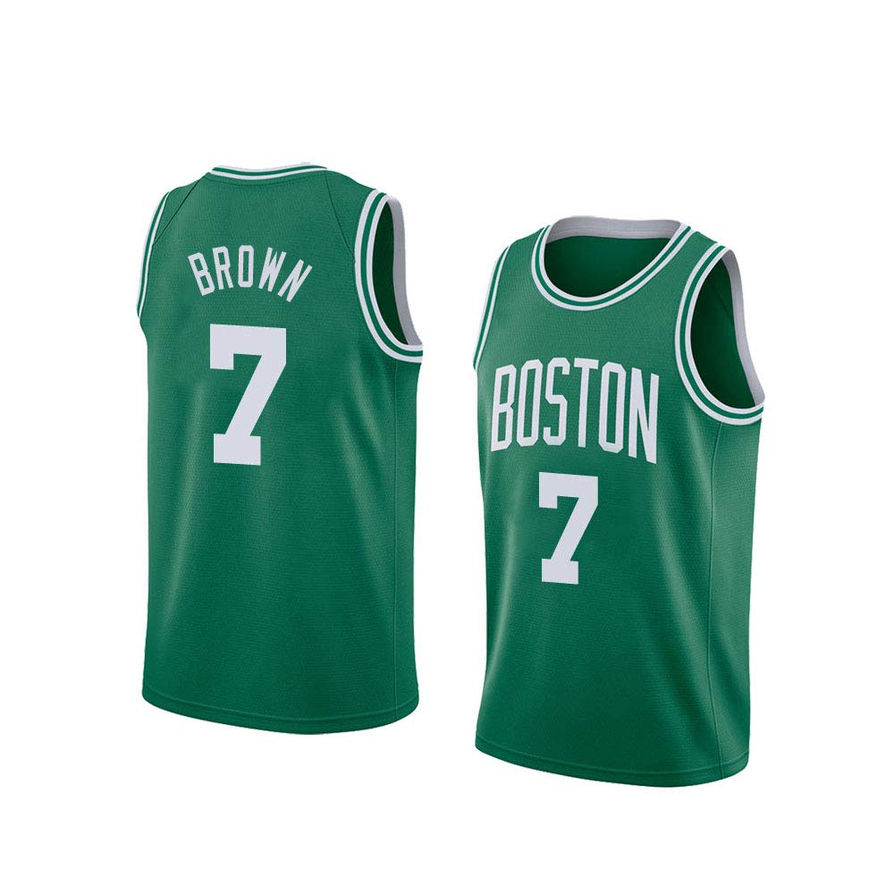 SWCN Jersey De La NBA, Boston Celtics # 7, Camiseta Marrón De La NBA ...