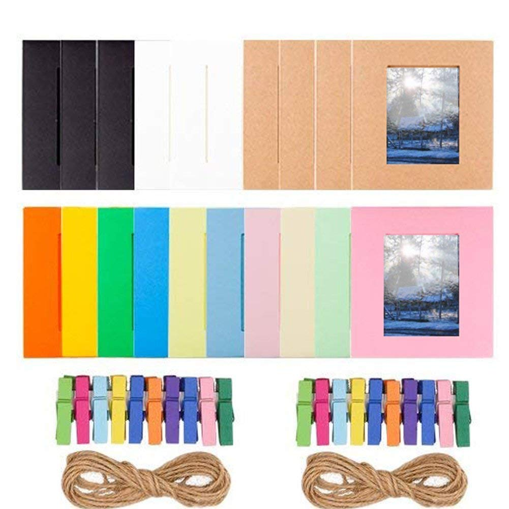Anter Photo Album Accesorios para Fujifilm Instax Mini Camera Snap Touch Impresora Films con Film Stickers Snap Album /& Frame 64 Pocket, Azul HP Sprocket Polaroid Zip