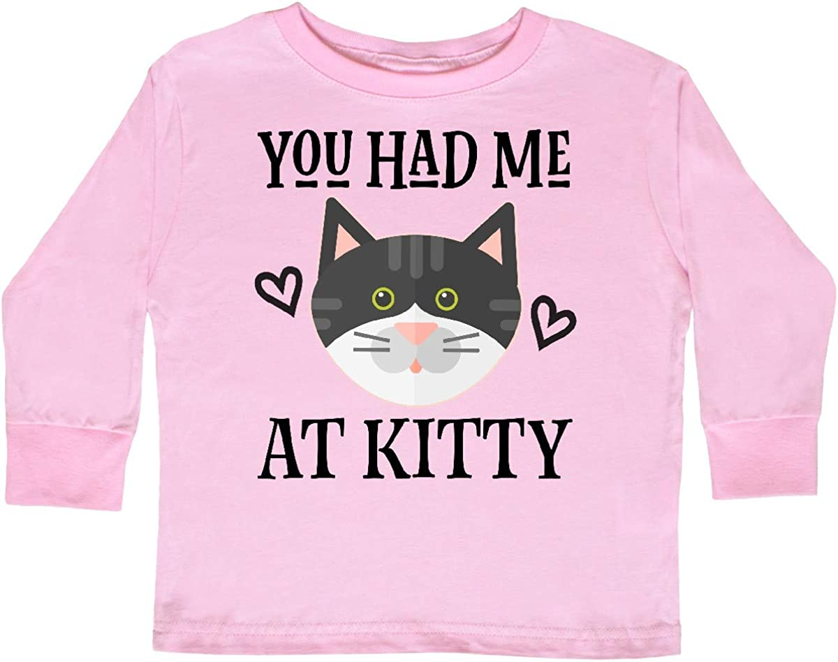inktastic Kitty Cat Baby Gift Toddler Long Sleeve T-Shirt