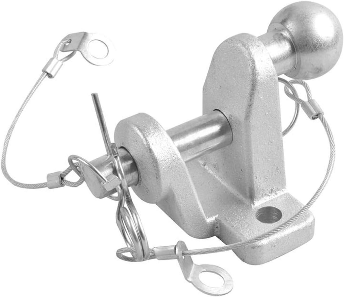 Kugelkopf Anhänger Kupplungskugel doppelte Ausführung 50mm Kupplungskugel 3,5t