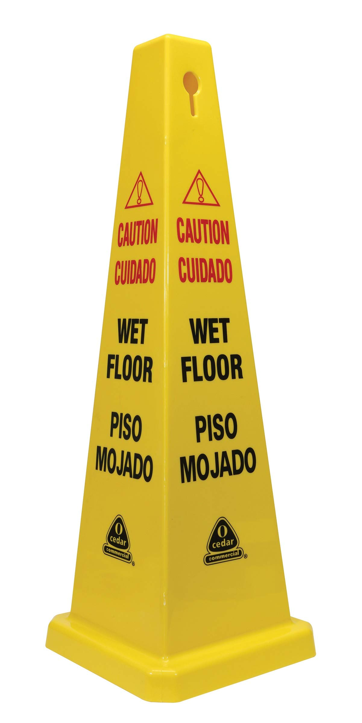 Oceeh|#O'cedar Commercial 96993 4-Sided Floor Safety Cone, (Pack of 6)