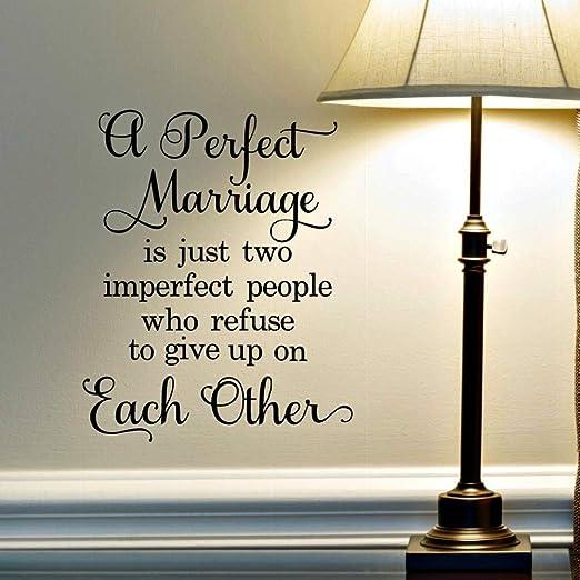 shiyueNB Marriage Lettering Wall Stickers Frases de Amor para el ...