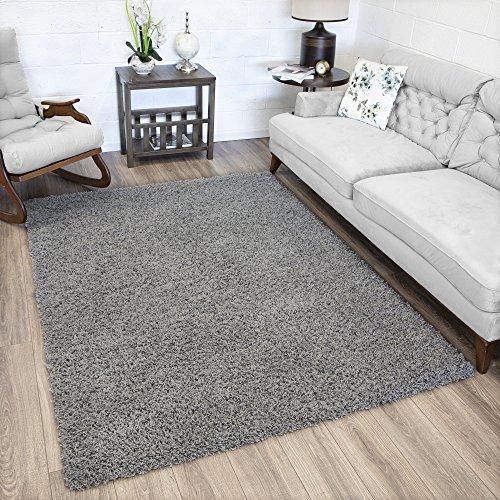 Amazon.com: Ottomanson Soft Cozy Color Solid Shag Area Rug