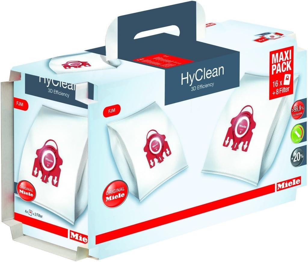 Sac Filtre Aspirateur Miele 209077 HyClean 3D Efficiency FJM S241 S256i S290...