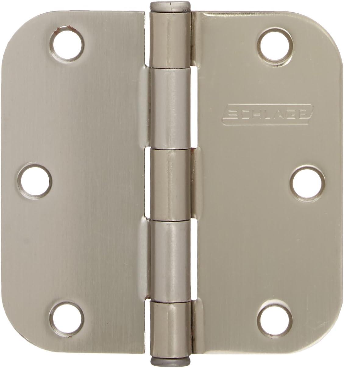 C1011b-620 Sc3p1011f-620e Artisan 3-1//2 5//8 Rad Round Corner Hinge Pewter 3//Crd