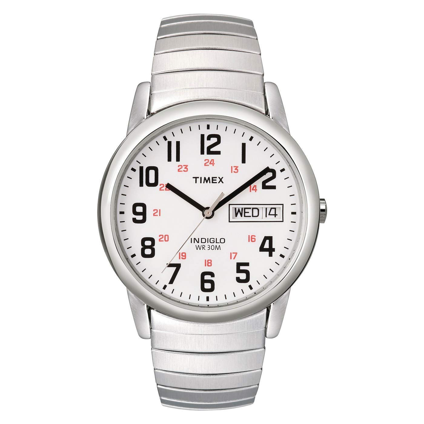 Timex Mens Easy Reader Day-Date Expansion Band Watch product image