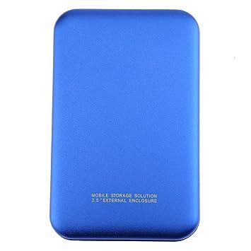 Amazon.com: easydeal 2.5 inch caja de disco duro externo USB ...