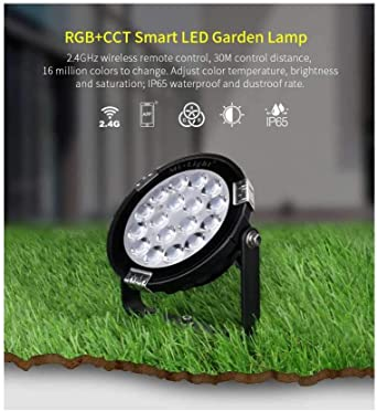 Proyector LED para jardín 9 W RGB+CCT DC 24 V – RGB + CCT: Amazon ...