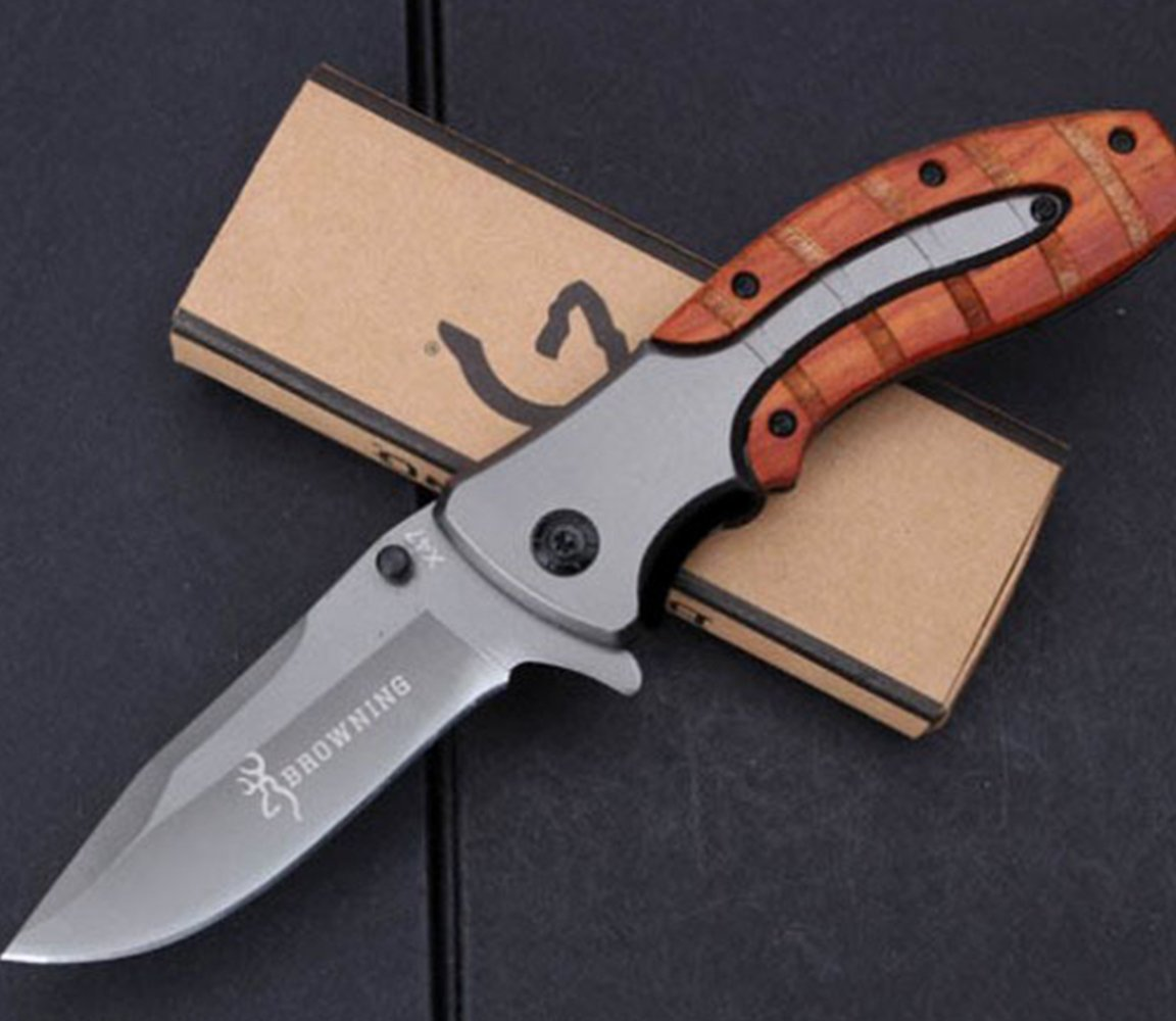 KNIFE SHOP Defensa Propia Cuchillo Browning X47 Veces ...