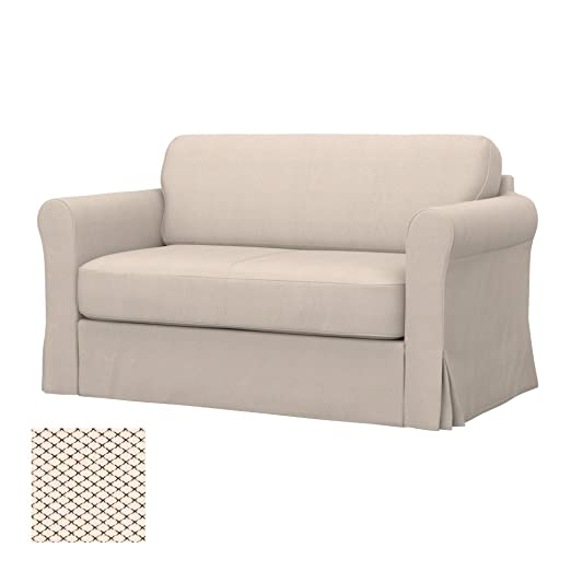 Soferia - IKEA HAGALUND Funda para sofá Cama, Nordic Creme: Amazon ...