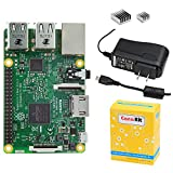PC Hardware : CanaKit Raspberry Pi 3 with 2.5A Micro USB Power Supply (UL Listed)