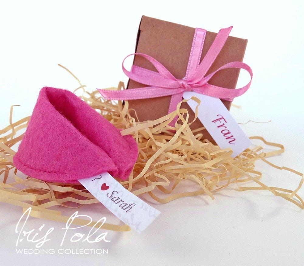 Amazon.com: FIVE (5) Be My Bridesmaid, Felt Fortune Cookie ...