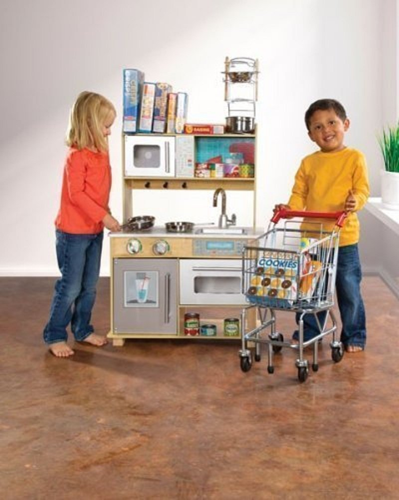 KidKraft Natural Toddler Kitchen by KidKraft (Image #2)