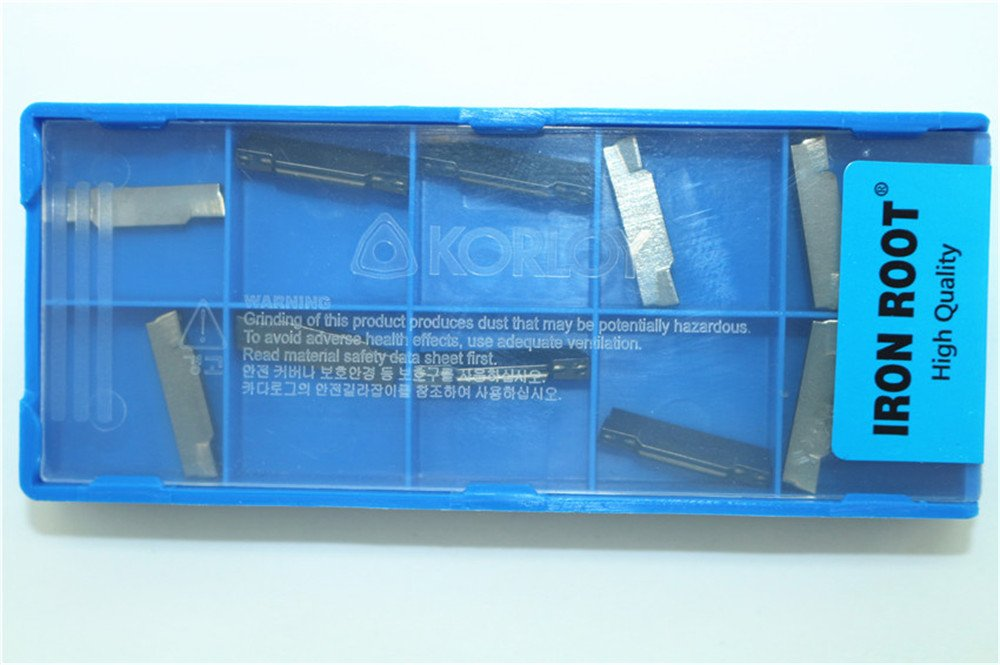 10P IR MGMN250-M N11 CNC Grooving Carbide insert for aluminum