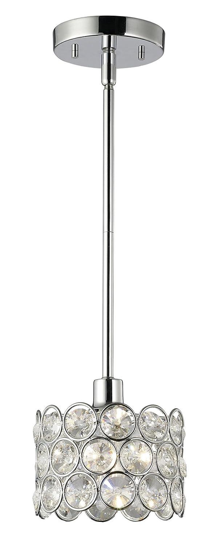 Canarm ipl104a01ch alice chrome pendant light ceiling pendant canarm ipl104a01ch alice chrome pendant light ceiling pendant fixtures amazon aloadofball Gallery
