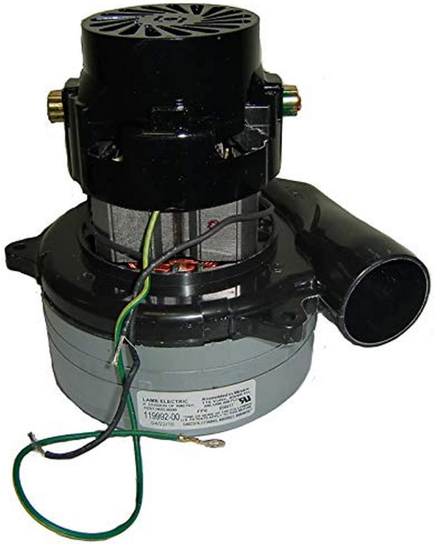 "Ametek-Motors 119992-00 Motor, 5.7"" 120 V B/B Tangential"