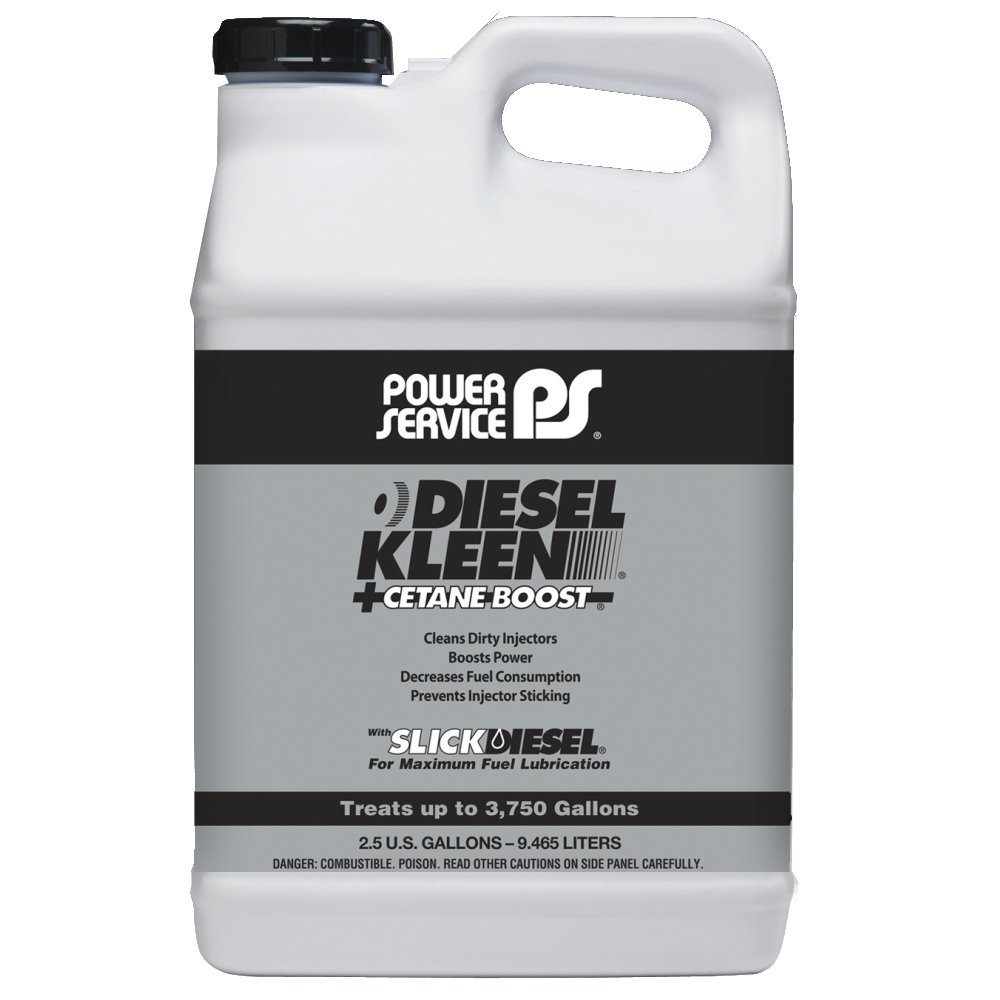 Power Service 03850-02 Diesel Kleen with Concentrated Cetane Boost Formula - 2.5 Gallon by Power Service