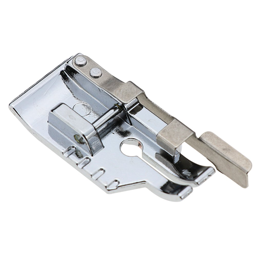 1/4''(Quarter Inch) Quilting Patchwork Sewing Machine Presser Foot with Edge Guide for All Low Shank Snap-On Singer, Brother, Babylock, Euro-Pro, Janome, Juki, Kenmore, New Home, White, Simplicity STORMSHOPPING 4336999459