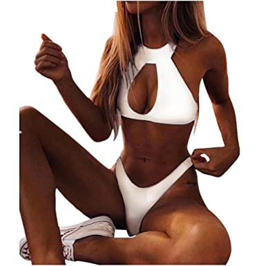 Women Faux Leather Choker Bralette Bra Sets Push Up Lingerie Set Matching Panties and Lace Thong