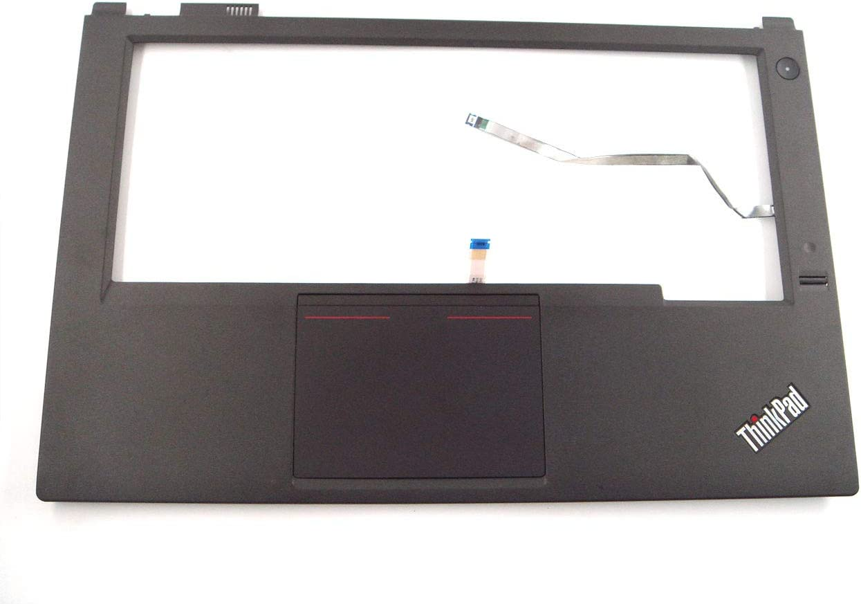 Genuine Parts for Lenovo ThinkPad T440P 14.0 inch Palmrest with touchpad and Fingerprint & Cable as Photo 04X5394