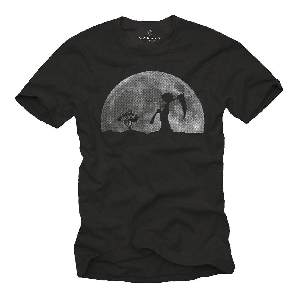 LA Muerte EN EL Jardin Camisetas Divertidas Hombre