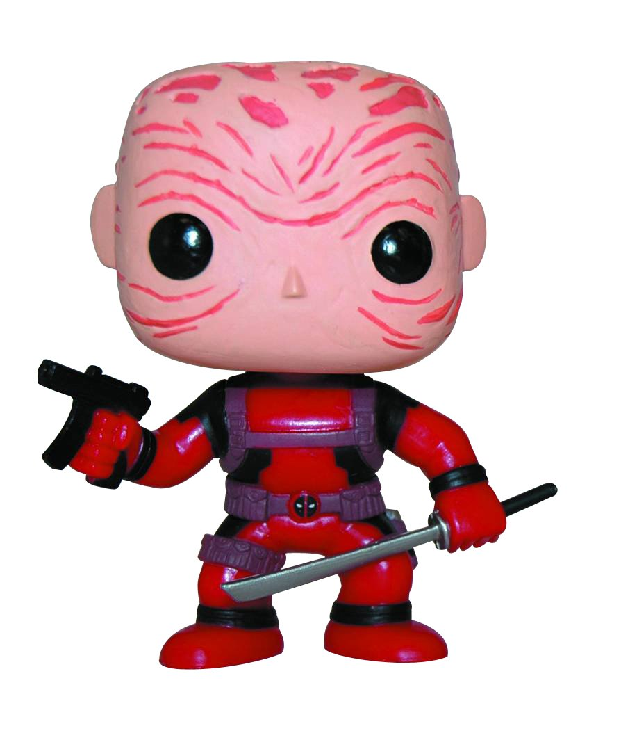 Funko Pop! Marvel Deadpool rojo unmasked