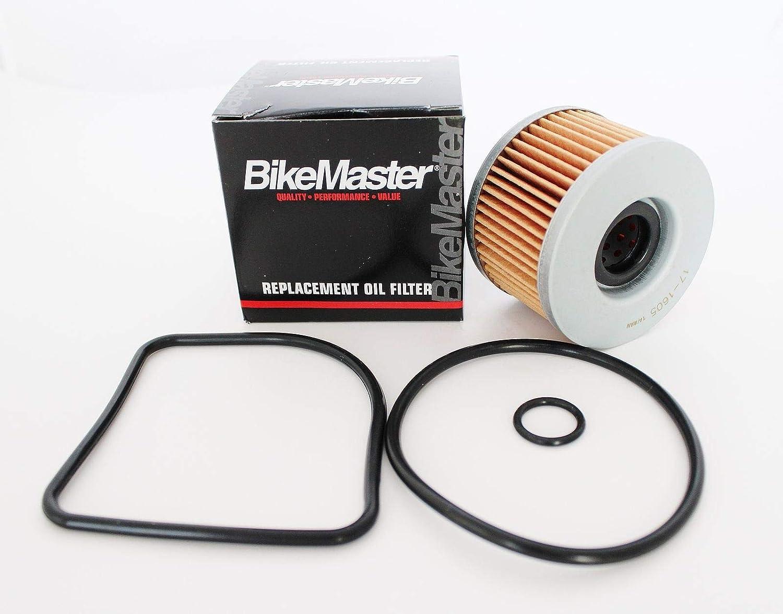 BikeMaster Oil Filter for Honda TRX500FA Foreman Rubicon 2001 to 2012