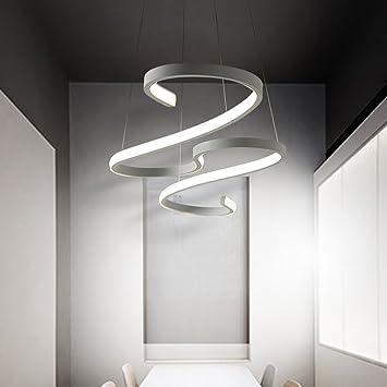 Wshceilinglamp Leuchter Deckenleuchte Spiralformig Moderne