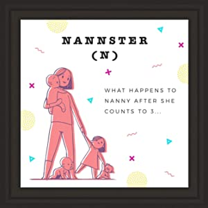 "Babysitter Gifts | 7X7"" Tile Artwork 