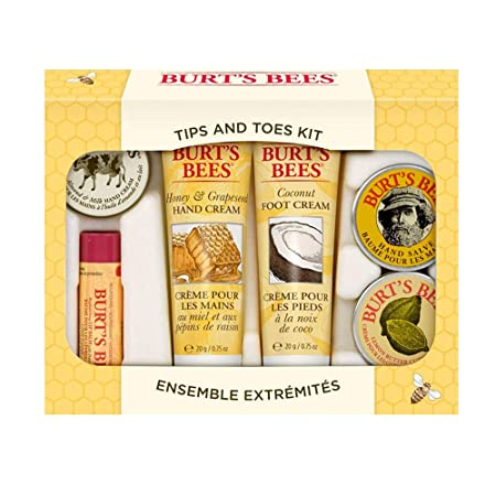 Amazon.com: Burts Bees Tips and Toes Kit para manos y pies ...