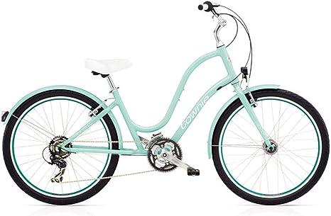 Electra Townie Original 21d EQ Mujer bicicleta Invierno Mint 26 pulgadas Beach Cruiser iluminación, 538961: Amazon.es: Deportes y aire libre