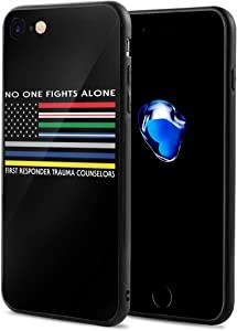 No One Fights Alone First Responder Case for iPhone 7/8 Phone Cases Protective Cover