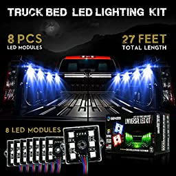 GENSSI 48 SMD 5640 8 Modules LED Kit Exterior Truck Bed (Color RGB)