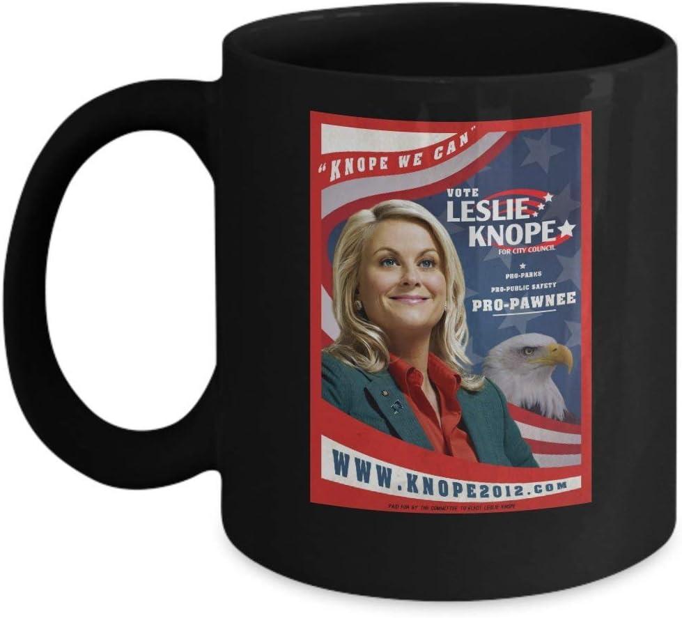 Gift Coffee Mug Tea Cup White 11Oz Leslie Knope We Can (Amy ...