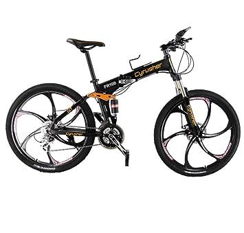 """Montaña plegable 26 """"extrbici® FR100 bicicleta plegable de montaña de aleación de aluminio"""