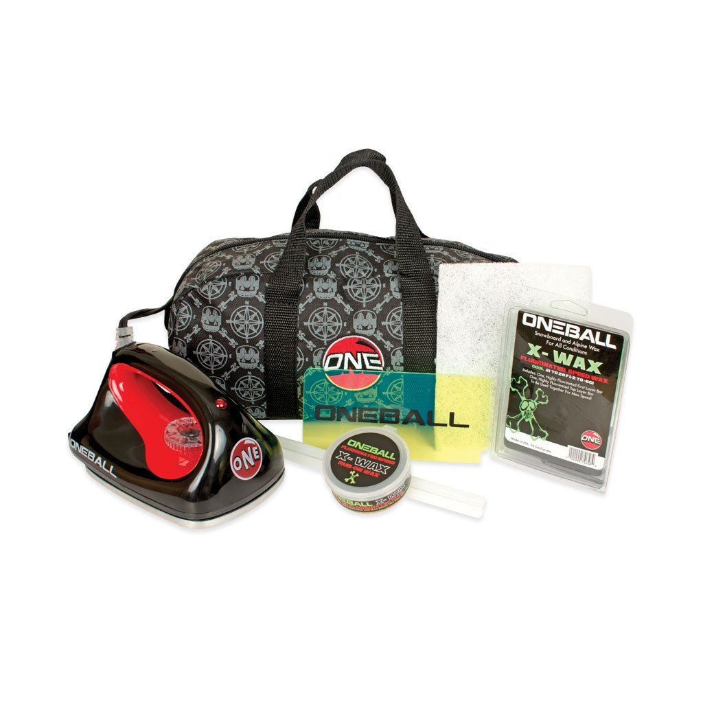 OneBall Jay Ski/Snowboard Tune Kit With Waxing Iron and Wax by One Ball Jay