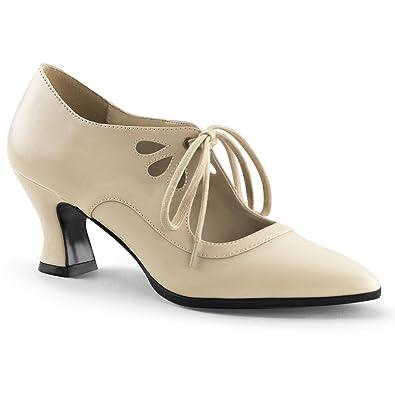 5d665bcbdaa Funtasma VICTORIAN-03 womens Cream Polyurethane Pumps Shoes Size - 6