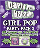 Party Tyme Karaoke: Girl Pop Party Pack 3