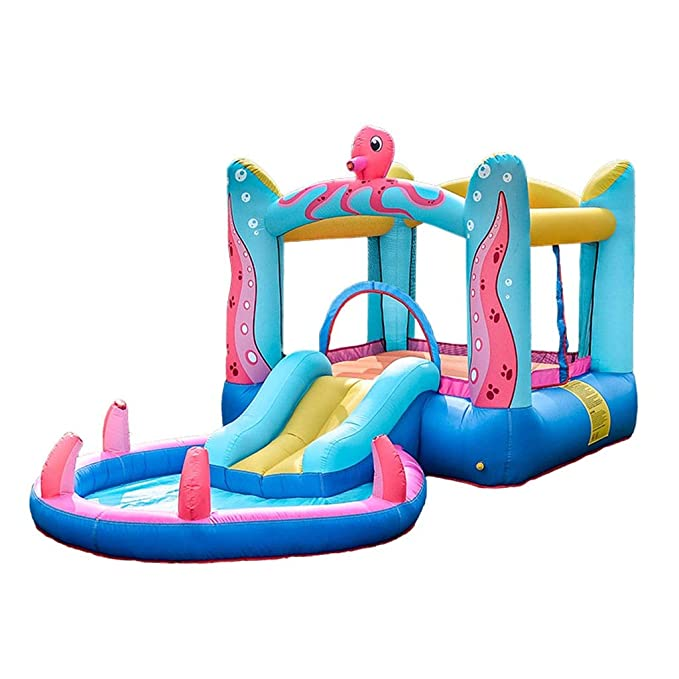 Hiyougen Inflable Bounce House Castle Kids Bouncer Salto House ...