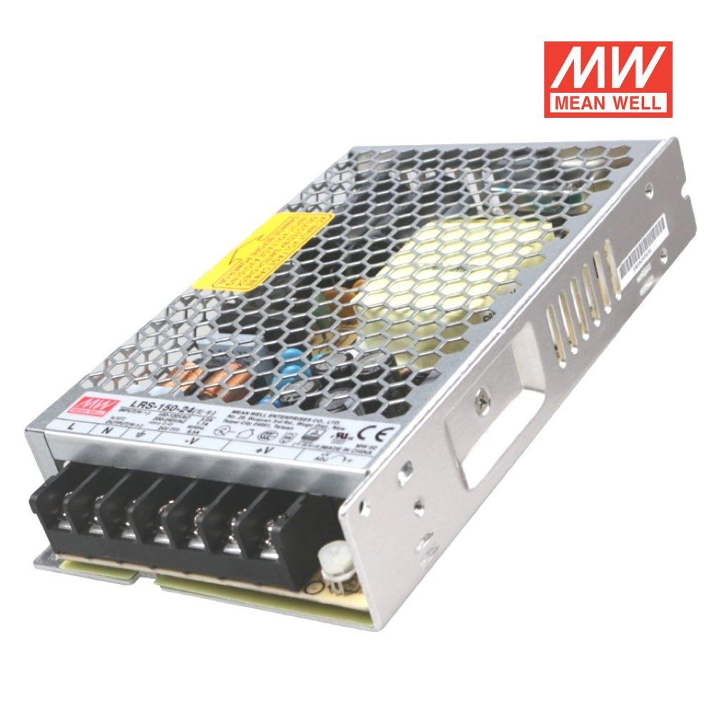 Alimentador Mean Well de 150/W y 12/V Dimensiones Mean Well/ LRS-150-12/de voltaje constante ideal para tiras LED 159/x 97/x 30/mm