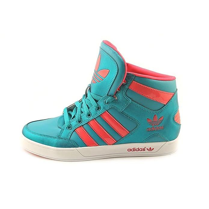 ... d732f 0fd45 Amazon.com adidas Womens Originals Hardcourt Hi Casual Shoes  basketball sneakers aqua ... b33351e45510b
